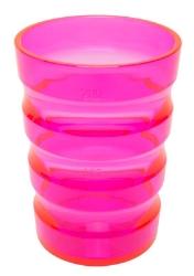 Rille-krus pink