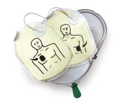 PAD-Pak elektrodi- ja akkupakk