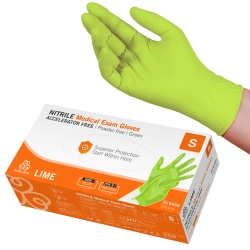 Handske us nitrile evercare pf