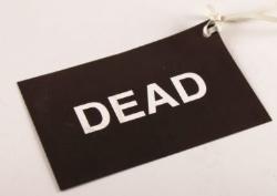 Triagekort Smart Tag DEAD