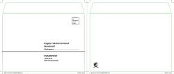 Kuvert C5 självklistrande med tryck