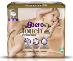 Tejpblöja Libero Touch