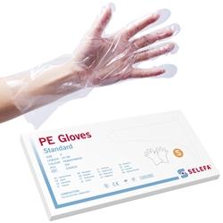 Handskar skydds Std Clear Emb