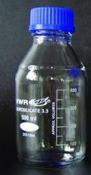 Flaska glas med skruvlock