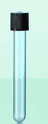Glasrör med skruvlock
