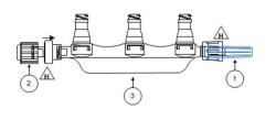 Manifold 3-port NanoClave