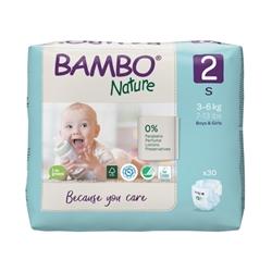 Tejpblöja Bambo Nature