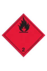 Etikett Brandfarliga gaser