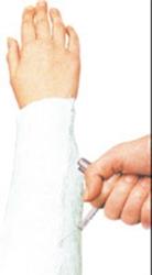 Plastprofil för gipsöppnare STILLE