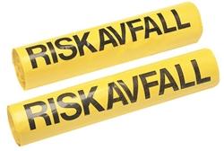Riskavf säck autokl bar gul