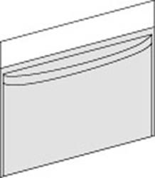 Vätskeuppsamlingspåse transparent Klinidrape