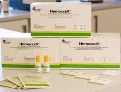 Provtagningspåse med testkort Hemoccult