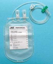 Blodtappningspåse graderad med kanyl JMS