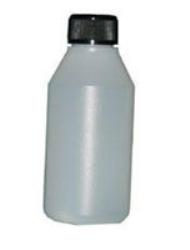 Flaska plast utan skruvlock