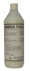 Tvål flytande för hand- och kroppstvätt Ambra
