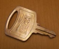Nyckel till handduksskåp