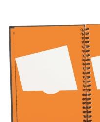 Adressbok spiralbindning
