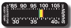 Hudtemperaturmätare Crystaline - Moving Line