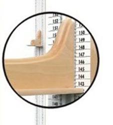 Löpare med golvplatta till längdmätare Hyssna M
