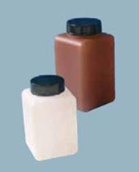 Flaska plast ljusskyddande med skruvlock