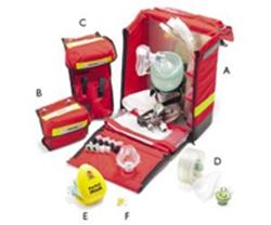 Väska akutvård Emergo