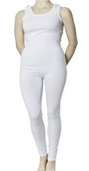 Fixeringspyjamas med tryckknapp på axeln