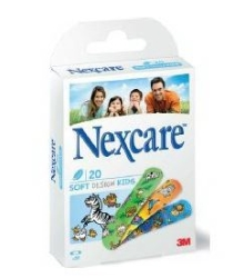 Plåster Nexcare Soft