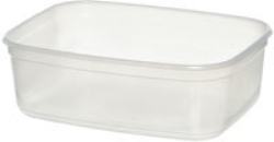 Frysform plast transparent
