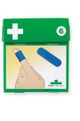 Plastplåster blå detectable