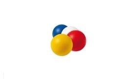 Softboll 7cm plastbelagd
