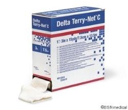 Polsterstrumpa Delta Terry-Net C