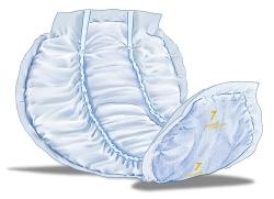 Inkontinensskydd för fixering i byxa
