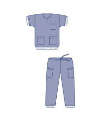 Avdkläder skjorta med mudd Evercare