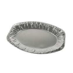 Serveringsfat aluminium ovalt