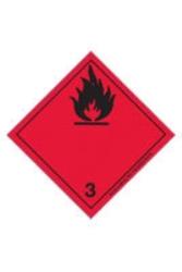Etikett  Brandfarliga vätskor