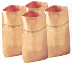 Sopsäck papper/plast  60l 95gram/m2 50my