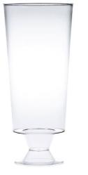 Glas plast klart champagne