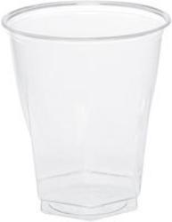 Glas plast klart