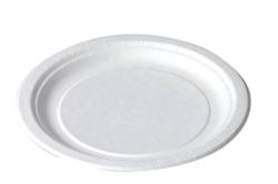 Tallrik papper flat assiett