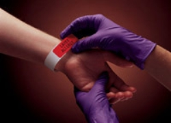 Undersökningshandske Purple Nitril