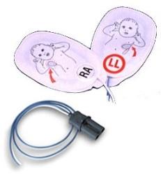 Defibrilleringselektrod barn