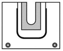 Uppsamlingspåse U-formad Steri-Drape
