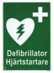 Klisteretikett A5 ZOLL AED Plus