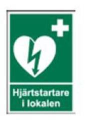 Klisteretikett 6x9cm ZOLL AED Plus