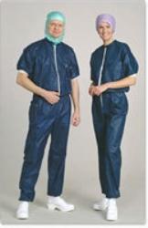 Avdelningskläder skjorta med muddar Barrier