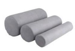 Cylinderkudde med hård kärna