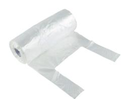 Plastpåse HDPE knythandtag