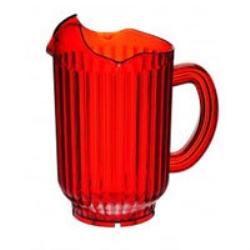 Tillbringare röd plast 1