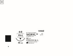 Ommelaine Vicryl 4-0 FS-2