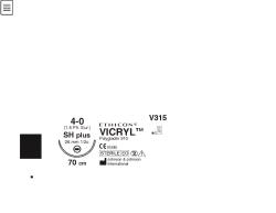 Ommelaine Vicryl 4-0 SH 26 mm